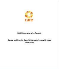 Sexual and Gender Based-Violence Advocacy Strategy