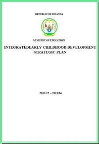 Integrated Early Childhood Development Strategic Plan