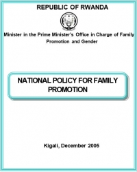 Rwandan National Family Policy