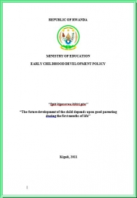 Early Childhood Development Policy