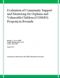 Evaluation of Community Support and Mentoring for OVC