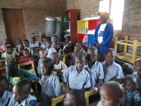 6 year olds at the ECD Center in the Gashaki sector